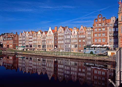 Gdańsk-Długie Pobrzeże 050296d polska europa dia 645 fot. Wojciech Wójcik