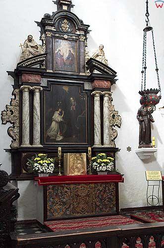 Gdańsk-Oliwa, wnętrze kościoła