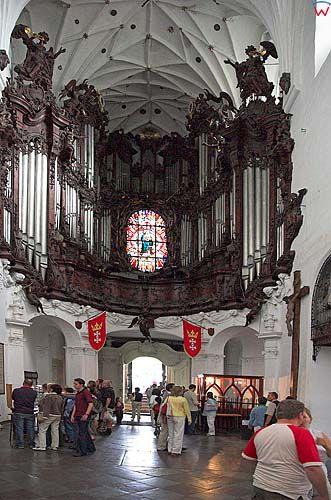 Gdańsk-Oliwa, organy w kościele