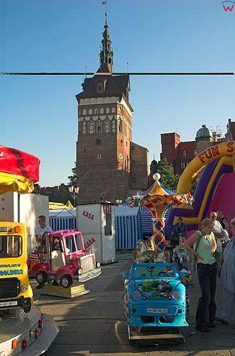 Bazar na targu węglowym w Gdańsku