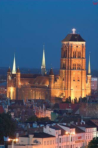 Gdańsk, kościół mariacki