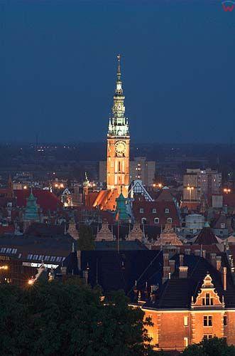 Gdańsk, wieża nowomieskiego ratusza