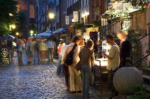 Gdańsk, ulica Mariacka