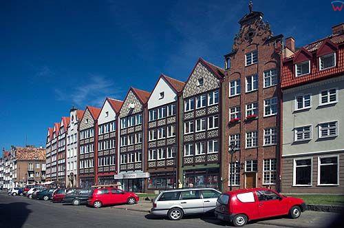 Gdańsk, kamienice