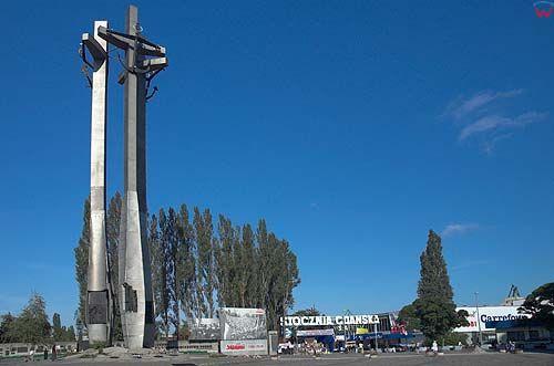 Gdańsk, pomnik stoczniowców