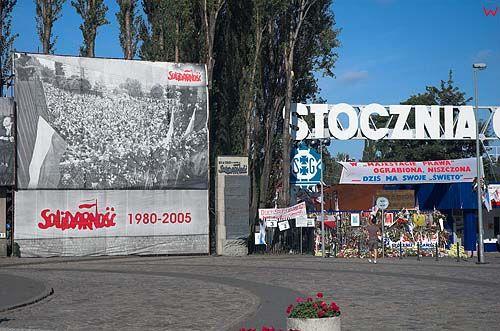 Gdańsk, plac solidarności