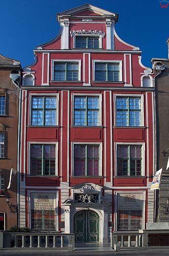 Gdańsk kamienica w śródmieściu