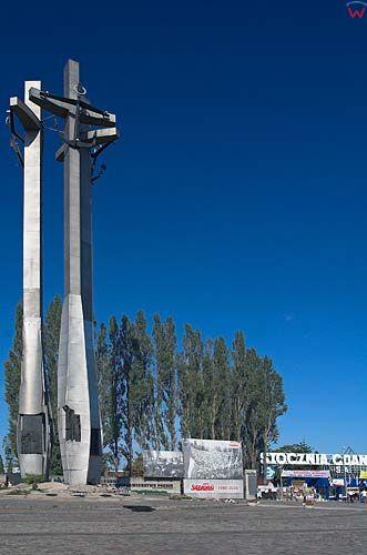 Pomnik Stoczniowc贸w w Gda艅sku