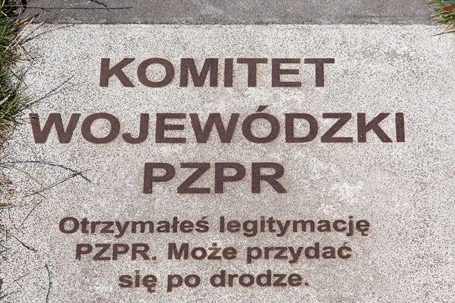 Gdansk, Plac Solidarnosci - Sciezka Edukacyjna. EU, PL, Pomorskie.