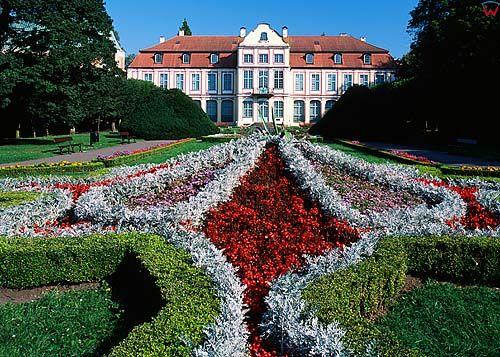 Gdańsk Oliwa, pałac Opatów