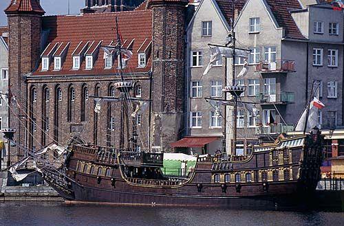 Gdańsk, rybackie pobrzeże