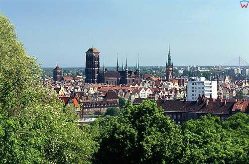 Panorama Gda艅ska z Biskupiej G贸rki