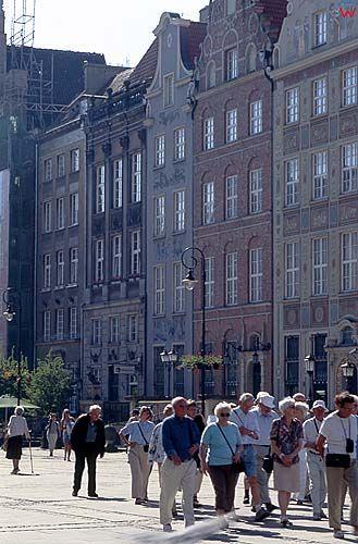 Gdańsk, kamienice przy długim targu