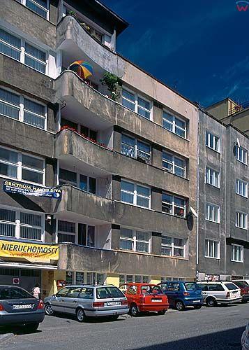 Gdynia, modernistyczna zabudowa