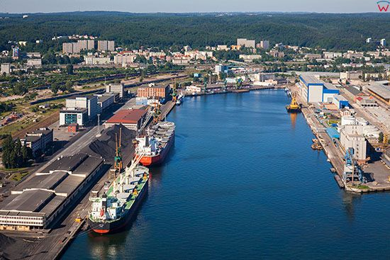 Gdynia, Basen IV Marszalka Pilsudskiego. EU, PL, Pomorskie. Lotnicze.