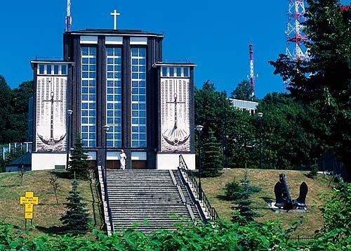 Gdynia, kościół garnizonowy