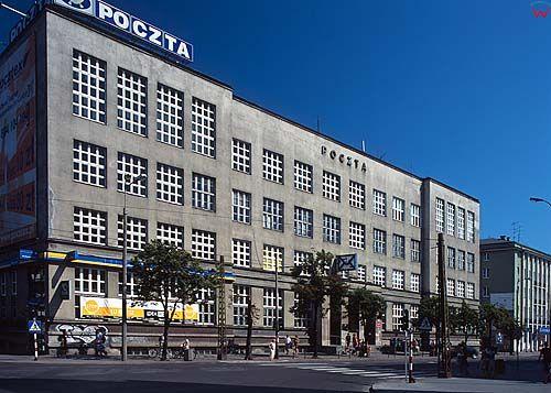 Gdynia, budynek poczty