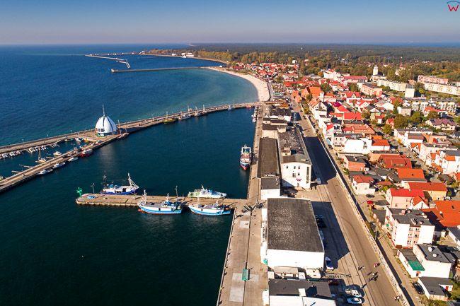 Hel, Basen portowy EU, PL, Pomorskie. Lotnicze