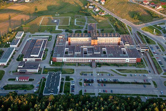 Lotnicze, EU, PL, Pomorskie. Szpital Specjalistyczny w Koscierzynie.