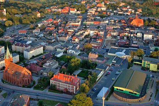 Lotnicze, EU, PL, Pomorskie. Centrum Koscierzyny.