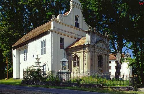 Kaplica w Kręgu pomorskie