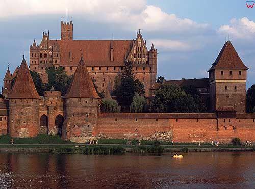 Zamek krzyĹĽacki w Malborku