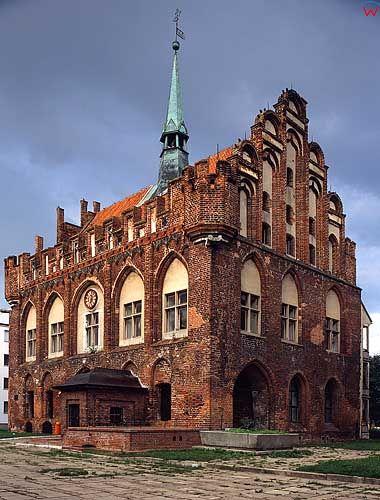 Ratusz gotycki w Malborku