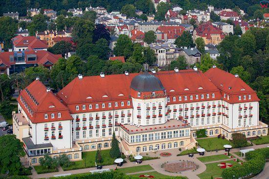 Grand Hotel w Sopocie. EU, Pl, pomorskie. Lotnicze.