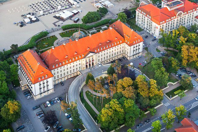 Sopot, Grand Hotel. EU, PL, Pomorskie. Lotnicze.