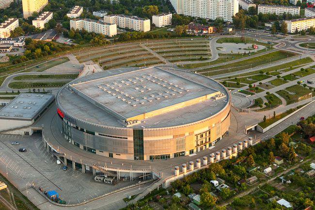 Ergo Arena Sopot. EU, PL, Pomorskie. Lotnicze.