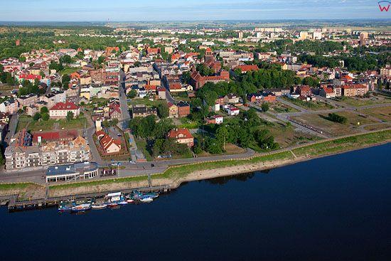 Lotnicze, Pl, pomorskie. Port w Tczewie.