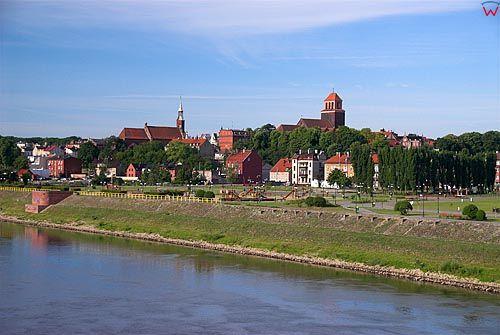 Pomorskie, Tczew. Bulwar nad Wisla.