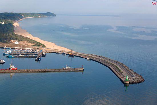 Port we Wladyslawowie. EU, PL, Pomorskie, Lotnicze.