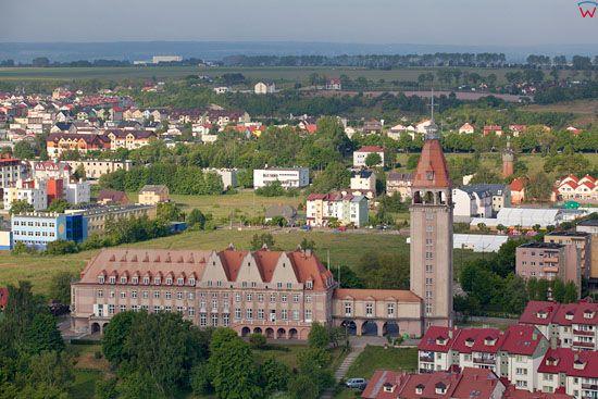 Dom Rybaka we Wladyslawowie. EU, PL, Pomorskie, Lotnicze.