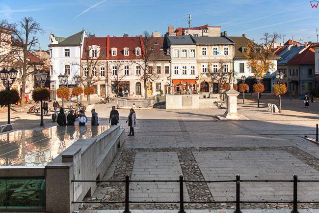Bielsko - Biala, Rynek Staromiejski. EU, PL, Slaskie.
