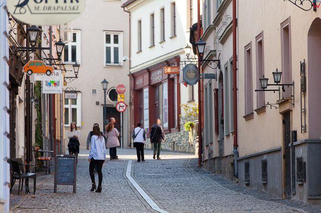 Bielsko - Biala, ulica Cieszynska. EU, PL, Slaskie.