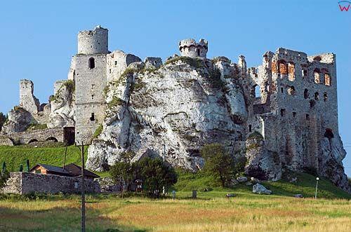 Zamek w Ogrodzieńcu, śląskie