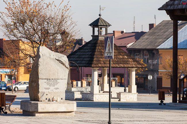 Pilica, rynek miejski. EU, PL, Slaskie.