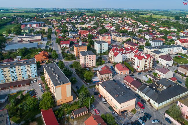 Opatow, panorama miasta