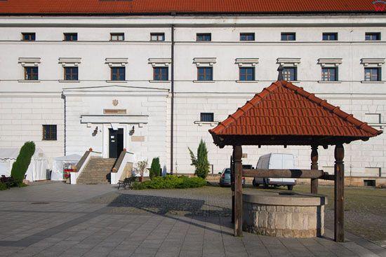 Sandomierz - dziedziniec zamkowy. EU, Pl, Swietokrzyskie.