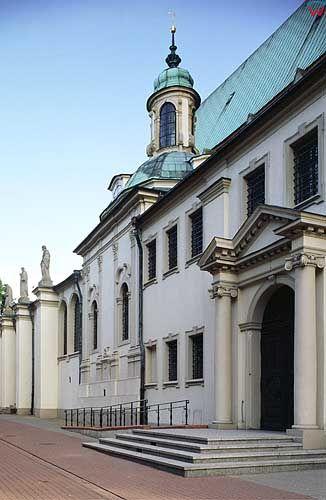 Elewacja katedry w Gnieźnie