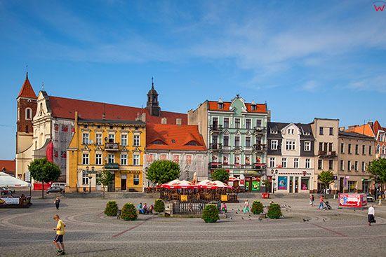 Gniezno, rynek miejski. EU, Pl, Wielkopolskie.