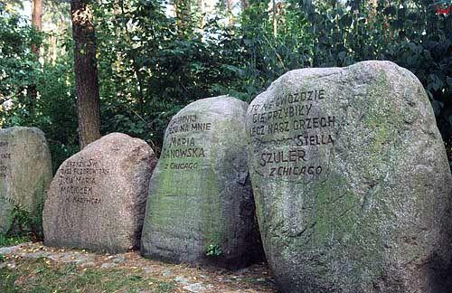 Głazy-pomniki w Starym Licheniu