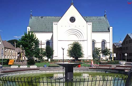 Czaplinek kościół zachodnopom.