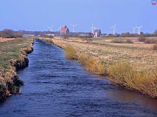 Siłowie wiatrowie w Darłówku