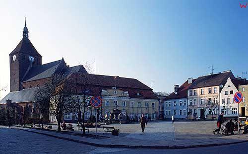 Rynek w Darłowie