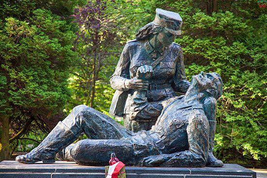 Kolobrzeg, Pomnik Sanitariuszki. EU, PL, Zachodniopomorskie.