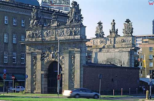 Brama obronn w Szczecinie