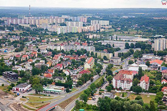 Szczecin, Szczecin Dabie. EU, Pl, Zachodniopomorskie. Lotnicze.