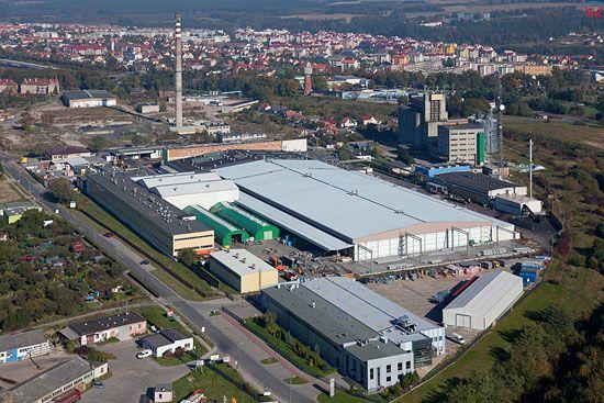 Lotnicze, Pl, Pomorskie. Fabryka International Paper - Kwidzyn.